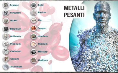 Intossicazione da metalli pesanti, sintomi e rimedi