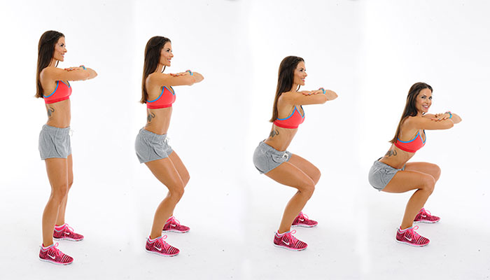 esercizi-per-dimagrire-le-gambe-squat