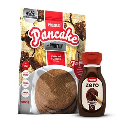pancakes-proteici-cioccolata